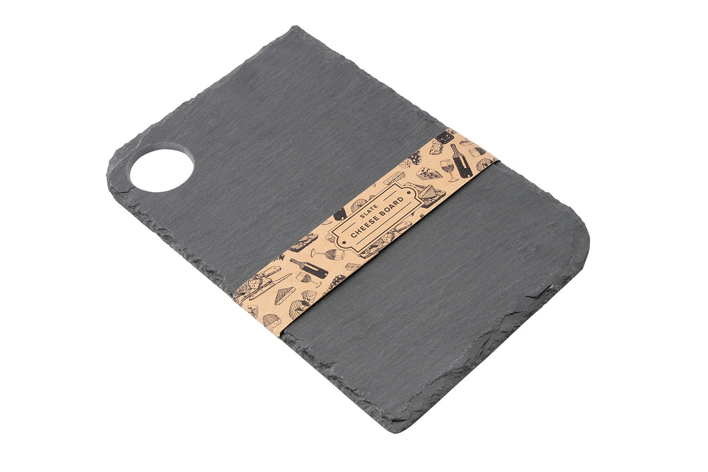 Personalised Loft Rectangle Natural Slate Cheese Board - Culzean Gifts