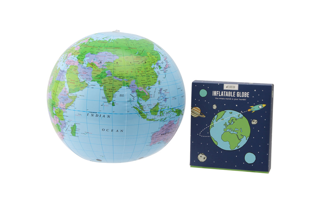 Eureka Inflatable Globe - Culzean Gifts