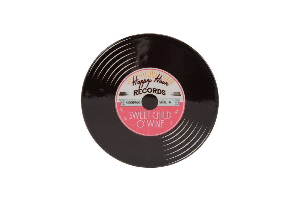 Record Coaster - 'I Heard It Through the Grape...' - Culzean Gifts
