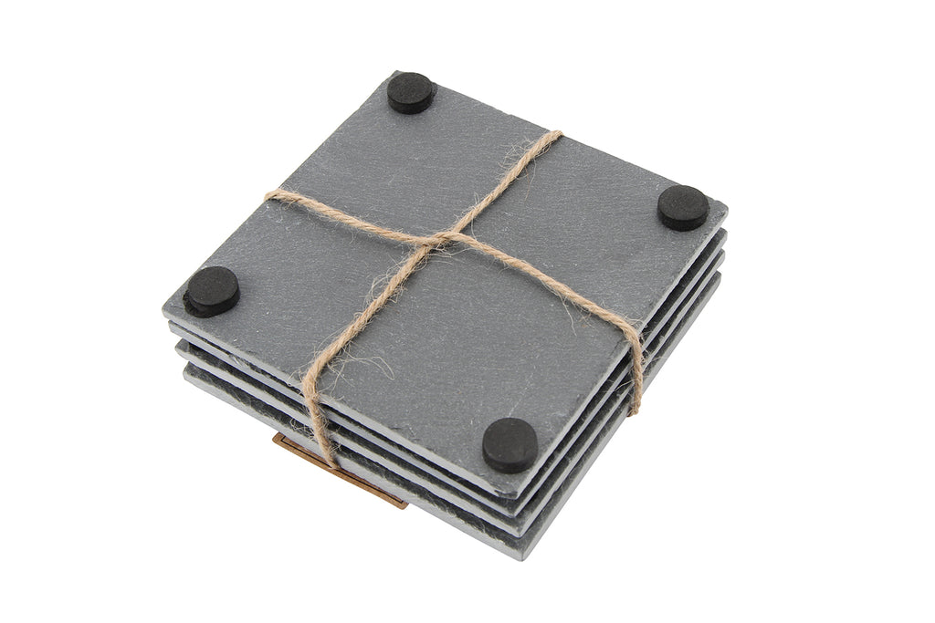 Individual Personalised Slate Square Coaster - Culzean Gifts