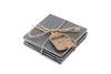 Personalised Loft Set of 4 Slate Square Coasters - Culzean Gifts