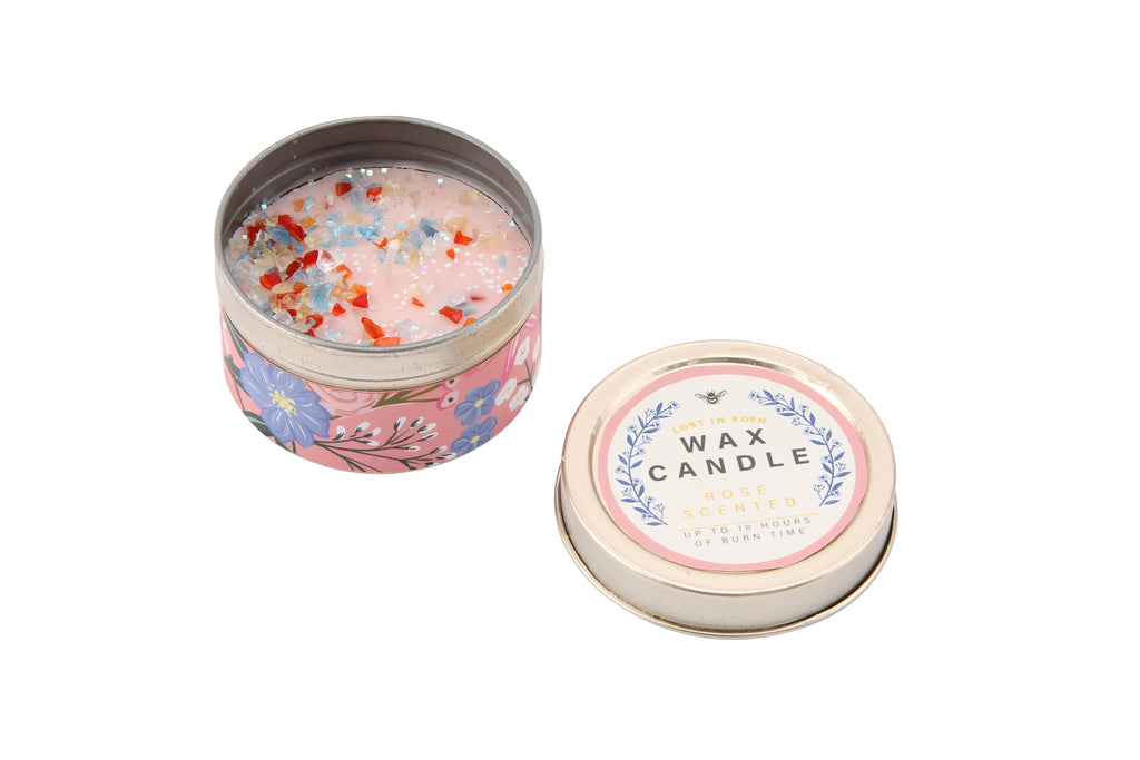 Lost In Eden English Rose Candle - Culzean Gifts