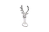 Stag Head Bottle Opener In Organza Bag - Culzean Gifts