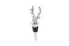 Stag Head Bottle Stopper In Organza Bag - Culzean Gifts