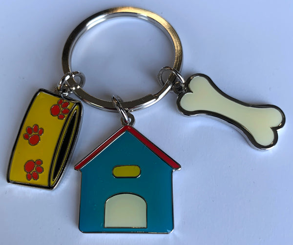 Dog House Key Fob - Available Engraved Personalised