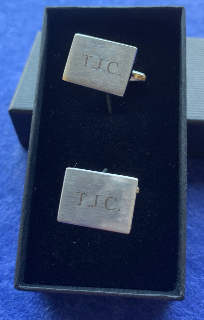 Engraved Personalised Cufflinks