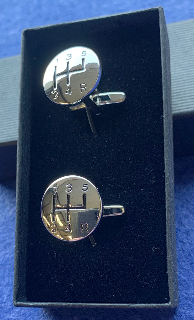 Gear Stick Cufflinks