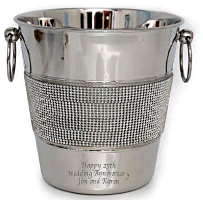Diamante Champagne Bucket