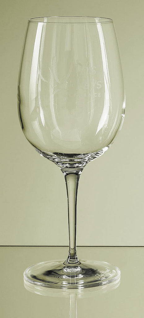 Allegro Engraved Wine Glass Gift - Engraved - Culzean Gifts