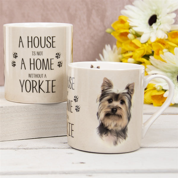 House Not Home Mug - Yorkie