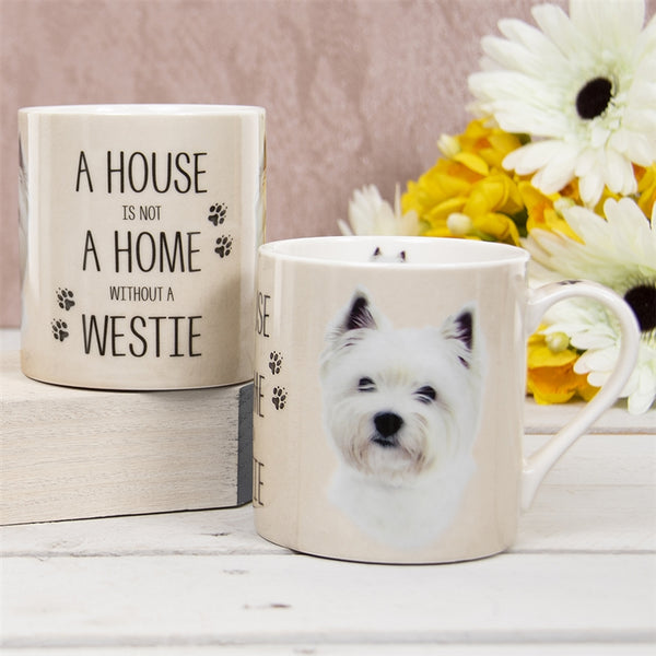 House Not Home Mug - Westie