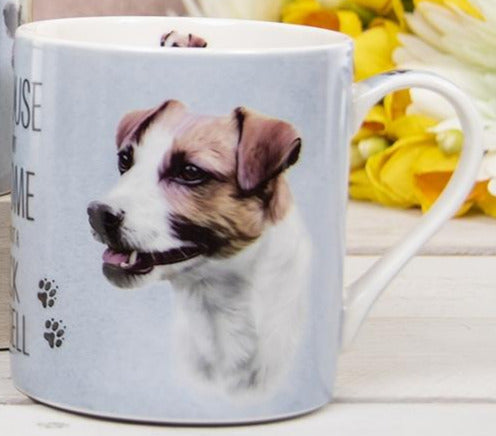 House Not Home Mug - Jack Russell