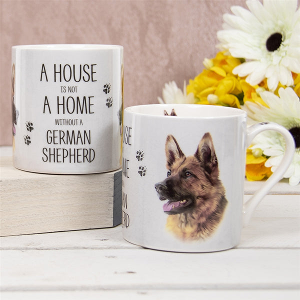House Not Home Mug - German Shepherd