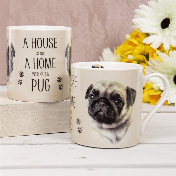 House Not Home Mug - Pug