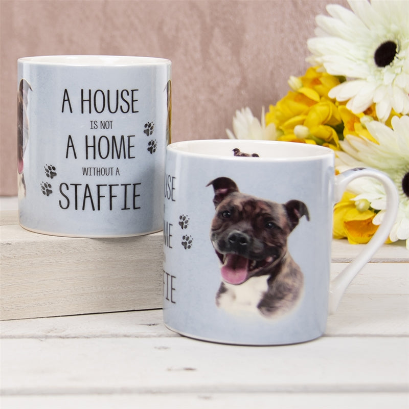House Not Home Mug - Staffie