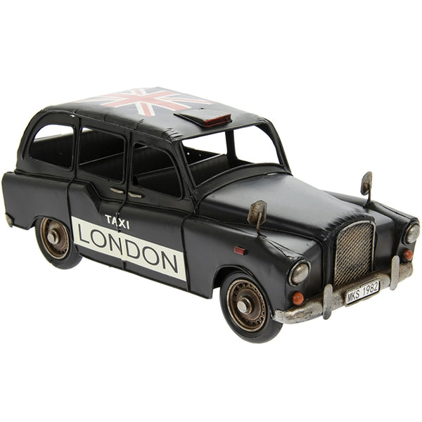 Vintage Black London Taxi 32cm