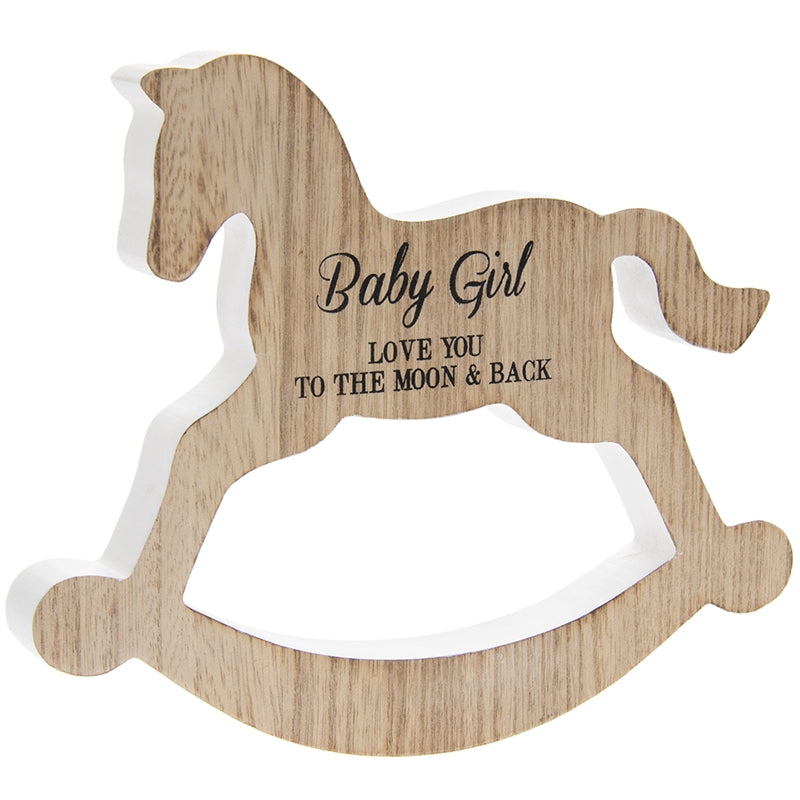 Rocking Horse Design Plaque - Culzean Gifts