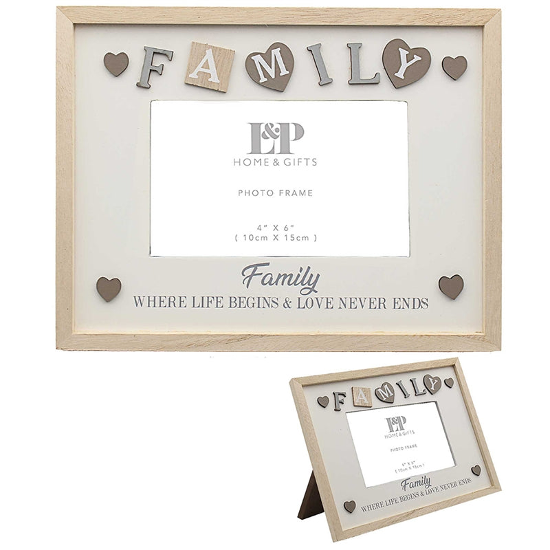 Sentiments Frame Family 25cm