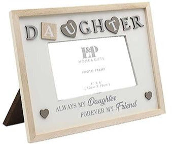 Sentiments Frame Daughter 25cm