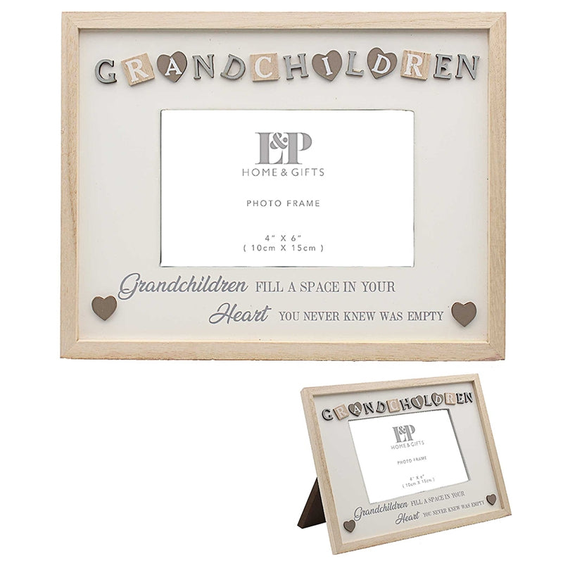 Sentiments Frame Grandchild 25cm