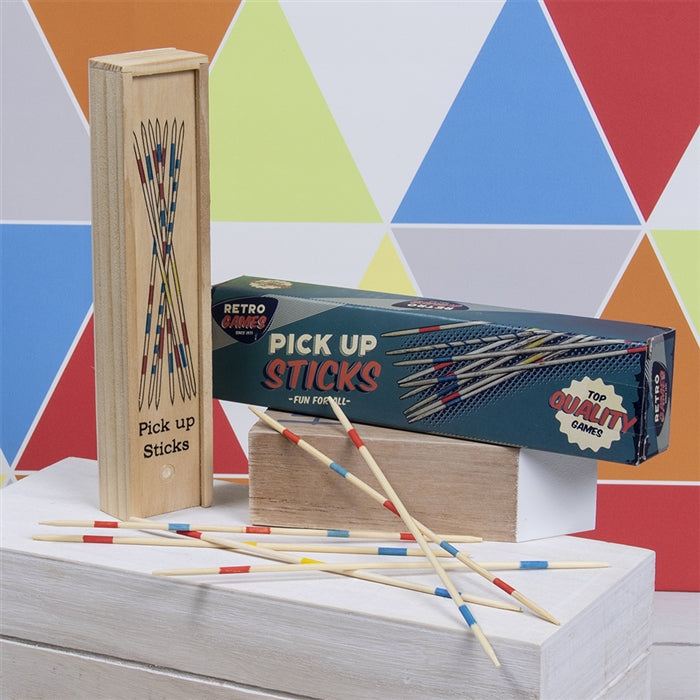 Retro Wooden Pick Up Sticks Pack - Culzean Gifts