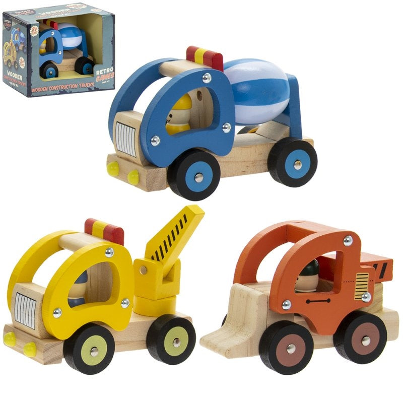 Wooden Retro Truck Toy - Culzean Gifts