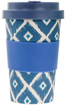 Ornate Bamboo Travel Mug