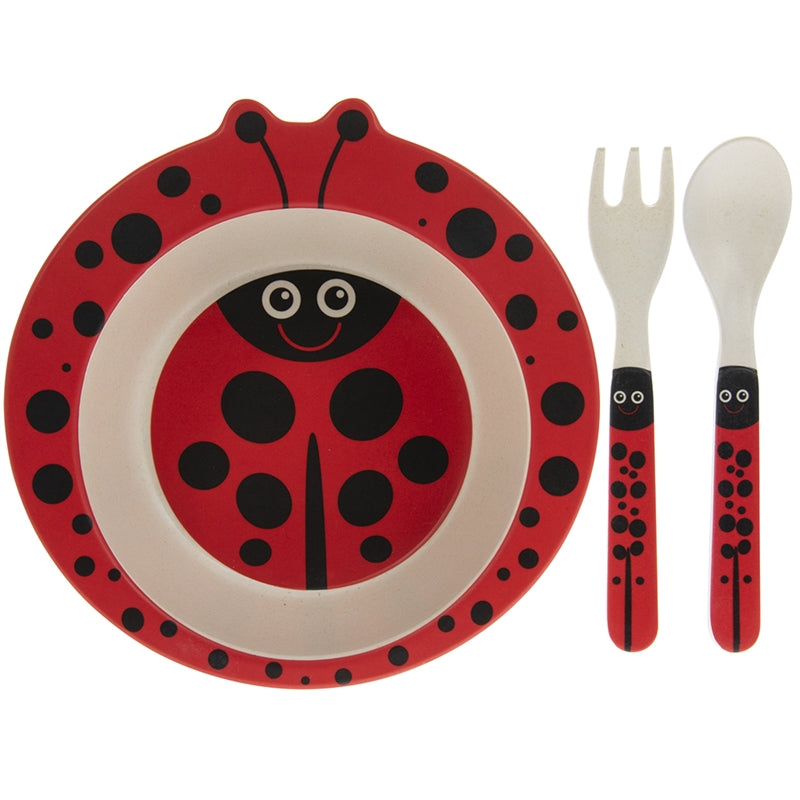 Bamboo Eating Set Ladybird