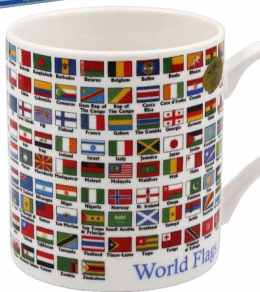 Flags Of The World Mug - Culzean Gifts
