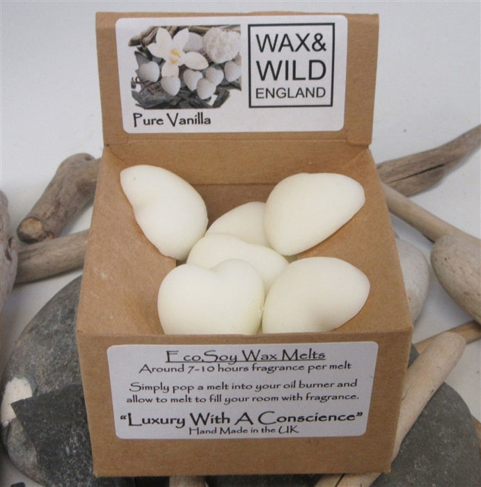 Box of 20 Soy Wax Melts - Pure Vanilla