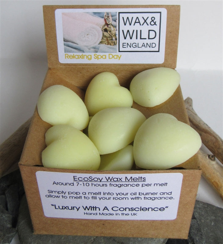 Box of 20 Soy Wax Melts - Relaxing Spa Day