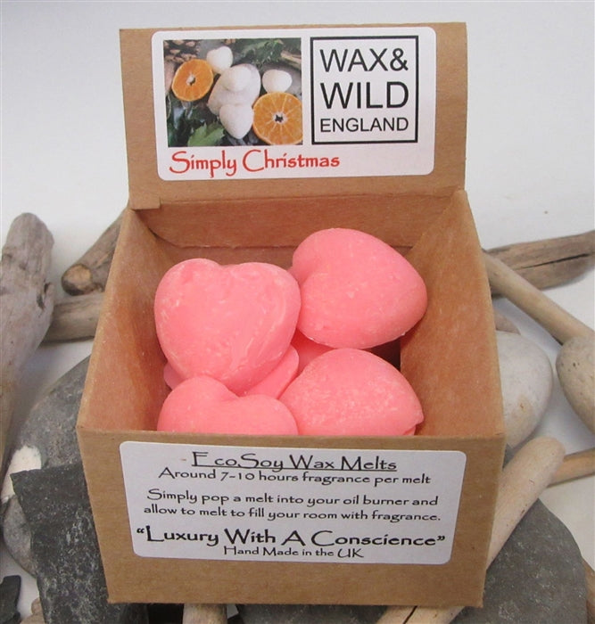 Box of 20 Soy Wax Melts - Simply Christmas