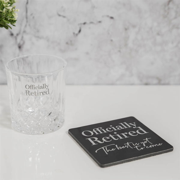 Milestone Whisky Glass Coaster Set - Retired