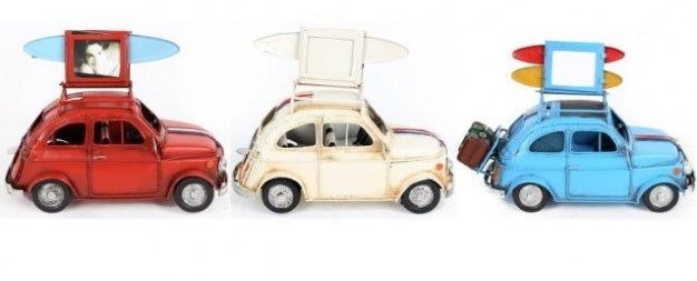 Tin Model Car With Photo Frame