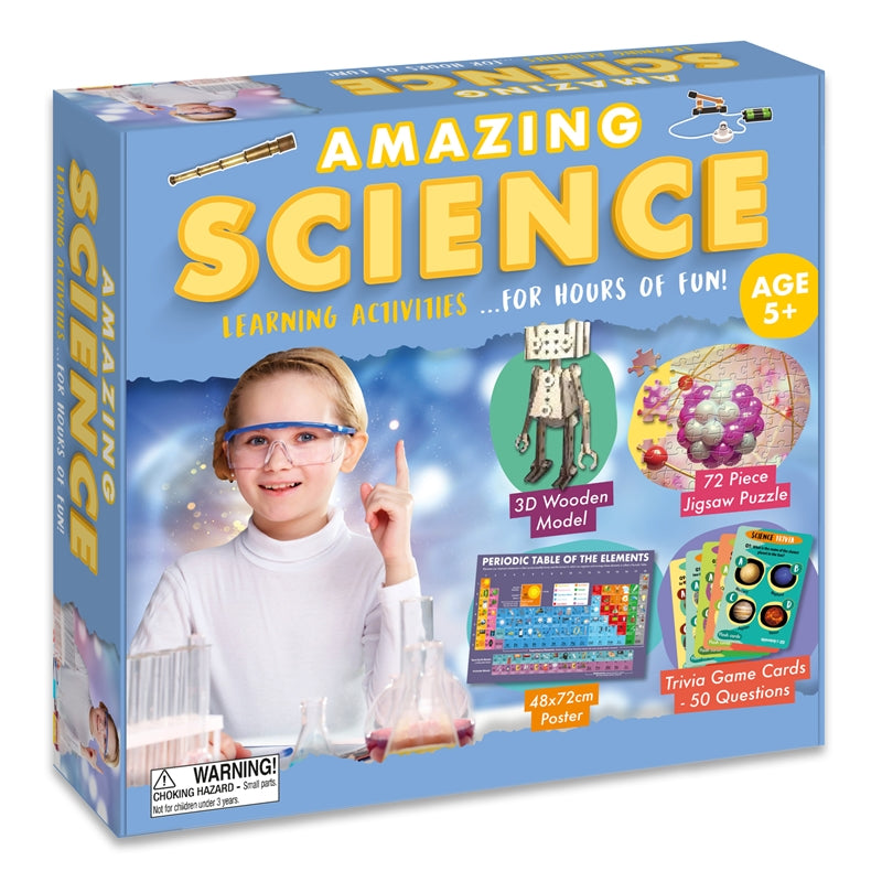 Amazing Activity Set - Science - Culzean Gifts