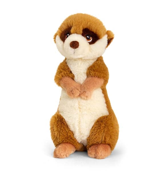 Plush Teddy Made From 100% Recycled Plastic - Meerkat 22cm