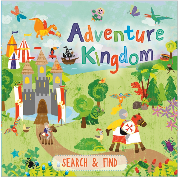 Search And Find Book Adventure Kingdom