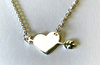 Sterling Silver 925 Necklace with Heart & Arrow Pendant
