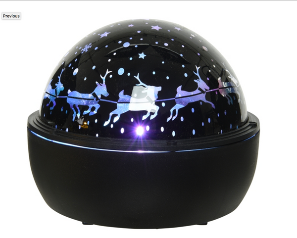 LED Ball Christmas Projector