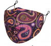 Paisley Reusable Face Mask With Filters