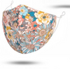 Floral Reusable Face Mask With Filters
