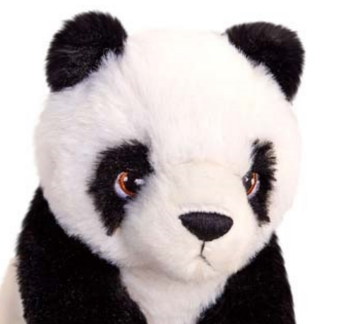 Plush Teddy Made From 100% Recycled Plastic - Panda 18cm