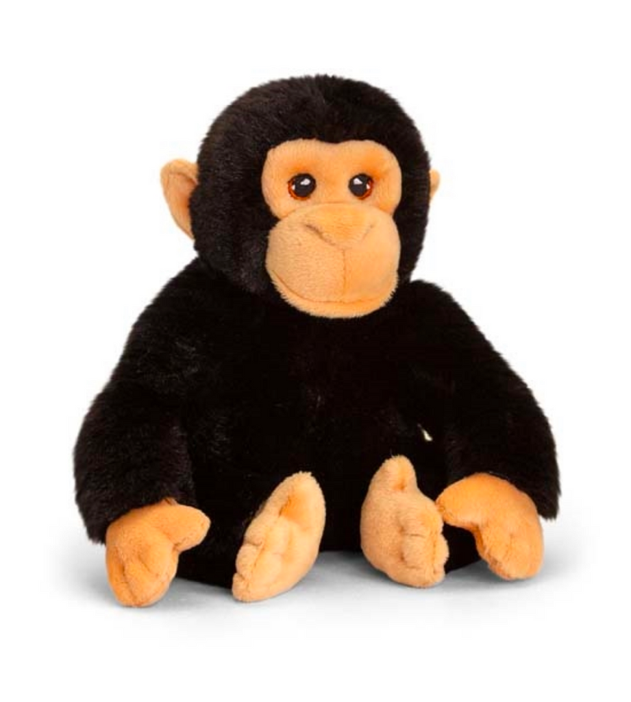 Plush Teddy Made From 100% Recycled Plastic - Chimp 18cm