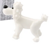 Glass Poodle Ornament 5.5cm