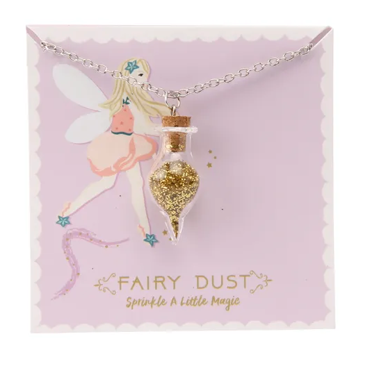 Once Upon A Time Gold Fairy Dust Necklace