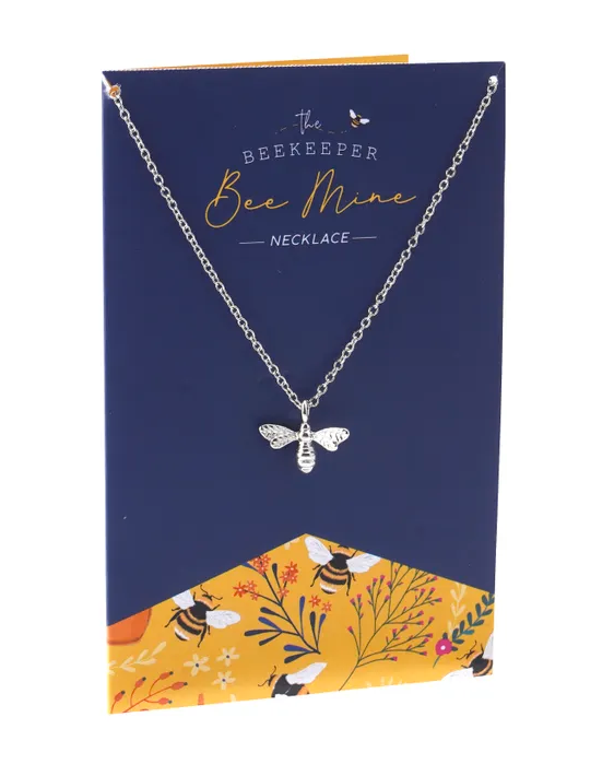 The Beekeeper 'Bee Mine' Necklace