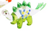 Glass Stegosaurus Ornament