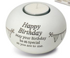 Said With Sentiment Happy Birthday T Light Holder
