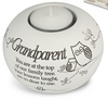 Said With Sentiment Grandparent T Light Holder