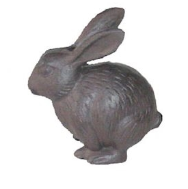 Cast Iron Rabbit 12cm